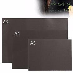 A3 A4 A5 Chalkboard Blackboard Magnetic Handpainted Personalised Memo Wall Sticker