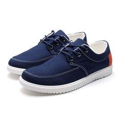 Мужчины холст спортивной обуви случайные кроссовки вождения дышащие кроссовки