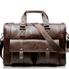 Men Business Vintage Laptop Bag Briefcase