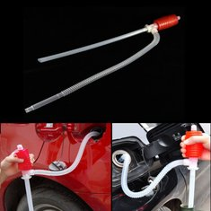 Car Manual Siphon Pump Portable Gas Oil Water Liquid Transfer Sucker