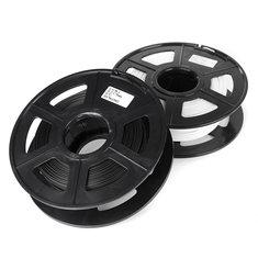 1.75mm 0.5kg Black/White Plastic PLA Material For 3D Printer Filament