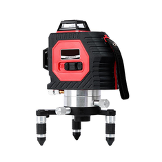 50M Laser Level Super Strong 12 Line Infrared Red Light Full Wall Meter With Optional Detec