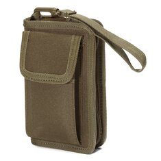 Multifunction Waterproof Wallet Credit Card Bag Phone Pouch Bag Purse Case Outdoor Nylon