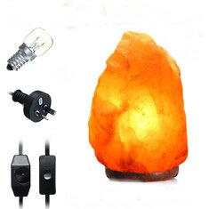 40 X 20CM Natural Himalayan Ionic Air Purifier Rock Crystal Salt Lamp Table Night Light