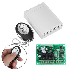 433Mhz Wireless RF Switch DC12V Relay Transmitter Receiver Module and 433 Mhz Remote Controls For DC