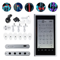 24 Modes Tens Unit Muscle Stimulator Electric Pulse Massager Machine Pain Relief Muscle Therapy