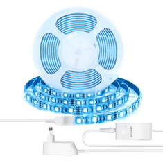 BlitzWolf® BW-LT11 2M/5M Smart APP Control RGBW LED Light Strip Kit or 1M Strip Light Extension Plus