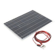 20W 12V Flexible Solar Panel For Battery Charging RV Boat Camping