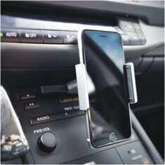 Alightstone Universal 360° Rotation CD Slot Car PhonE-mount Holder for 3.5-5.5 inch Cell Phone