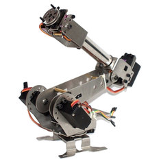 DIY 6DOF Metal Robot Arm 6 Axis Rotating Mechanical Robot Arm Kit