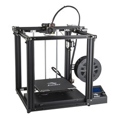 Creality 3D® Ender-5 DIY 3D Printer Kit 220*220*300mm Printing Size With Resume Print Dual Y-Axis Motor Soft Magnetic Sticker Support Off-line Print