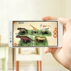 Digoo BB-CQ1 AR Education Card 108 Pcs Early Learning Interactive Educational Kids 3D Speelgoed