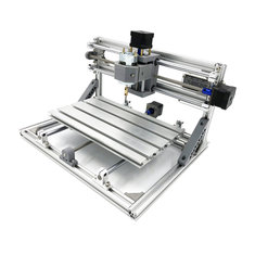 3018 3 Axis Mini DIY CNC Router w/ 5500mW Laser Engraving Machine Wood  Cutting Milling Engraver