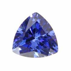 Trillion Faceted Cut Ellipse Sapphire Gemstones Jewelry