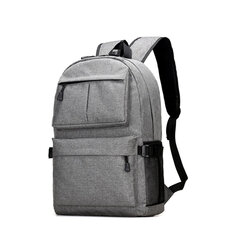 Men Waterproof Laptop Backpack Travel Bag With USB Charging Port