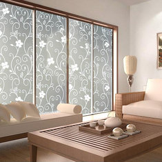 45*200cm Waterproof Frosted Bathroom Window Glass Film Stickers Decorations