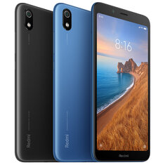 Xiaomi Redmi 7A Global Version 5.45 אינץ 'נעילת פנים 4000mAh 2GB 32GB Snapdragon 439 ליבת אוקטה 4G טלפון חכם