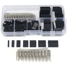 Geekcreit 310pcs 2.54mm Male Female Dupont Wire Jumper With Header Connector Housing Kit