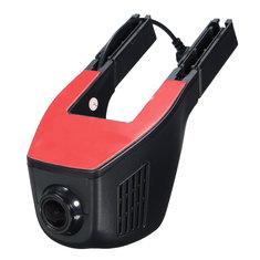 170° 1080P WiFi Hidden Car DVR Dash Camera Recorder G-Sensor Night Vision