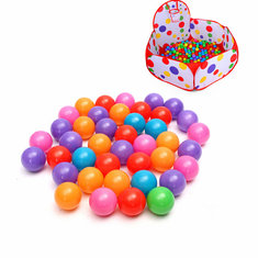 200PCS 4cm Soft Plastic Ocean Ball Secure Kid Pit Toy Swim Colorful Ball Toy
