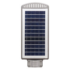 40W LED Solar Power Outdoor Wall Street Light Time Switch Control Security Lamp