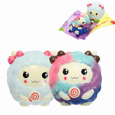 Squishy Sheep Lamb 12cm Cute Slow Rising Original Packaging Random Face Collection Gift Decor Toy