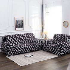1/2/3/4 Seater Elastic Sofa Chair Covers Slipcover Settee Stretch Floral Couch Protector