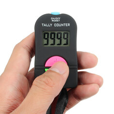 Digital Electronic Hand Tally Head Counter Clicker For Bouncer Crowd Sport Golf
