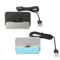 Micro USB Desktop Charger Sync Data Dock Cradle Stand Station For Tablet Cell Phone