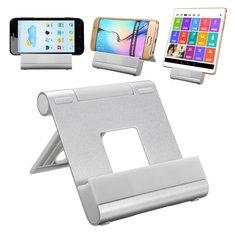 Universal Aluminum Adjustable Desktop Stand Holder Mount for iPhone Samsung Tablet PC