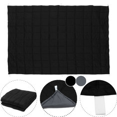 120x180CM Black Grey Weighted Blanket Cotton 7/9/11.5kg Heavy Sensory Relax Blankets