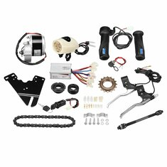 24V 250W Electric Bike Conversion Scooter Motor Controller Kit For 20-28inch Ordinary Bike Kit