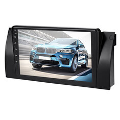 9 Inch Android 8.1 Car Stereo Radio MP5 Player Dash Video Quad Core 1+16GB Wifi GPS Built-in Microphone For BMW E38 E39 E53 X5