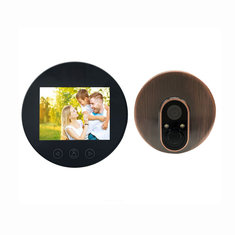Bakeey 100W Pixels 720P Wireless HD LED Display Night Vision Visual Voice Video Doorbell For Smart Home