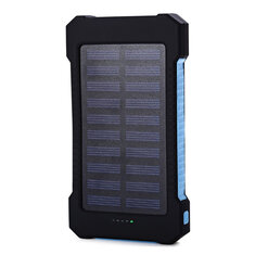 Bakeey Type-C  Indicator Light Solar Fast Charging Power Bank Case For iPhone XS 11Pro Huawei P30 Pro Mate 30 5G Xiaomi 9Pro Oneplus 7T Pro