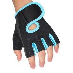 Cycling Training Weight Lifting Boating Half Finger Gloves