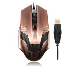 USB Wired Gaming Mouse 2000dpi LED Optical USB3.0 DC5V 100mA