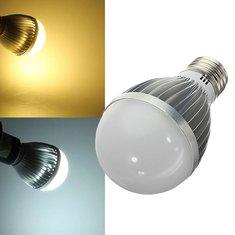 E27 6W LED Bulb Warm White/White AC110-240V LED Globe Light Bulb