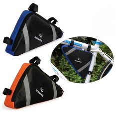 Roswheel Bike Triangle Bag Front Frame Tube Quick Release Pouch