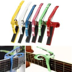 Electric or Acoustic Guitar Capo Quick Change Trigger Key Clamp