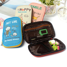 Girl Student Animal Pen Pencil Case Bag Stationery Makeup Cosmetic Bag
