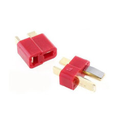 1 Pair Fireproof T Plug Connector For RC ESC Battery