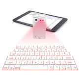 Mini Bluetooth Virtual Laser Projection Tastatur für Tablet Handy