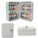Chiave di protezione scatola di immagazzinaggio armadietto con la modifica chiave di montaggio a parete in metallo 20 gancio