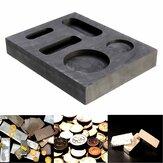 10 OZ Grafitowy tygiel sztabkowy Combo Forma do odlewania z topienia srebra
