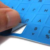 Anglais US autocollant clavier non-transparente