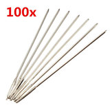 100pcs Silver Embroidery Needles for 11CT Cross Stitch