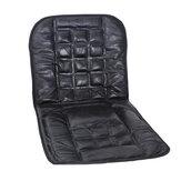 Couro volta apoiar tampa de assento cadeira de massagem almofada de frente para o automóvel