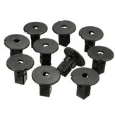10PCS 9mm Clips Fender Liner Screw Grommets For Toyota Tacoma Tundra
