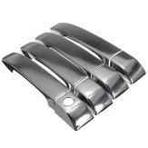 Silver Chromed Door Handle Covers Set for Land Rover Range Rover 2002-2012